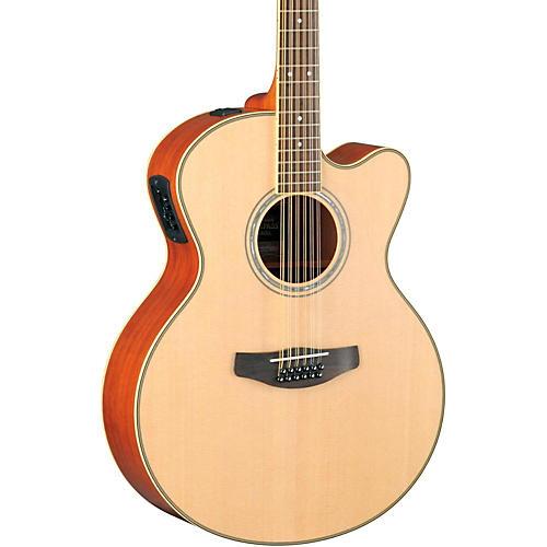Yamaha CPX700II-12 Medium-Jumbo 12-String Cutaway Acoustic-Electric Guitar