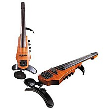 NS Design CR5 5-String Electric Violin Level 1 Amber Stain