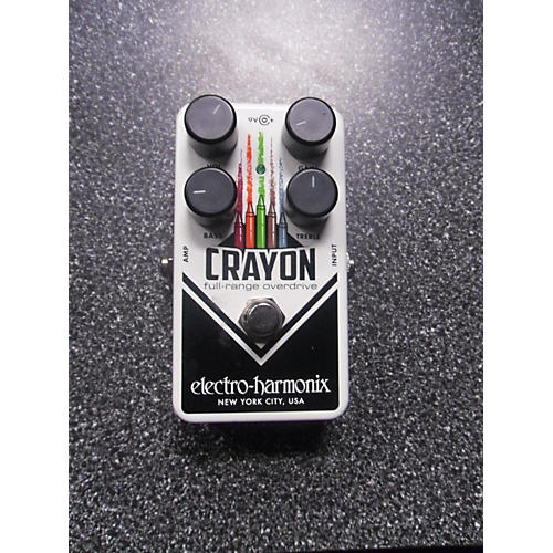 Electro-Harmonix CRAYON FULL RANGE DISTORTION Effect Pedal