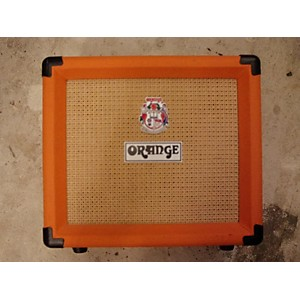 Pre-owned Orange Amplifiers CRUSH 12 W RMS Battery Powered Amp by Orange Amplifiers