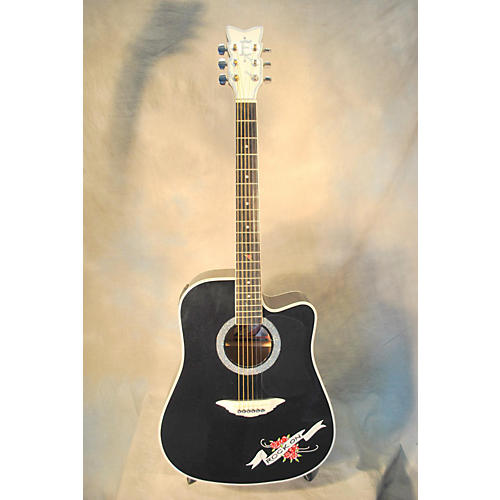 In Store Used CRYSTAL HEART Acoustic Guitar-thumbnail