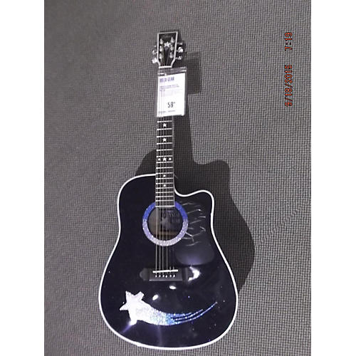 In Store Used CRYSTAL STAR Acoustic Electric Guitar