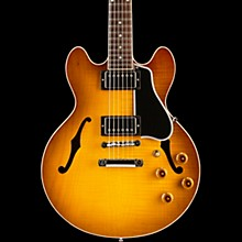 CS-336 Figured Semi-Hollowbody Electric Guitar Iced Tea 5-ply Black Pickguard