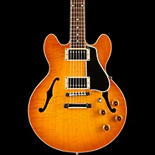 CS-336 Figured Semi-Hollowbody Electric Guitar Tangerine Burst