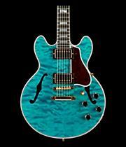 Gibson Custom CS-356 3A Quilt Semi-Hollowbody Electric Guitar