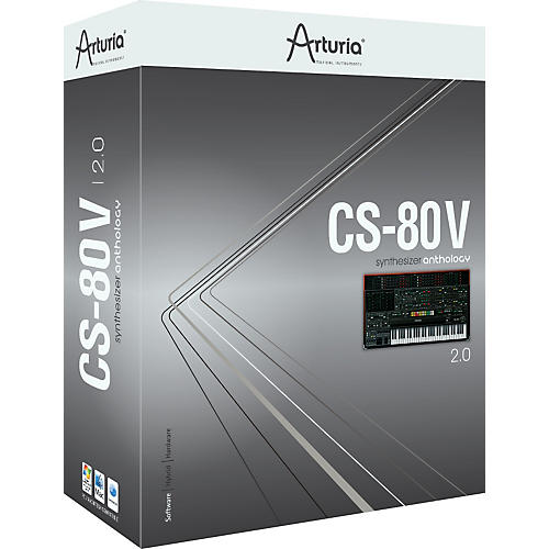 Arturia CS-80 V 2.0 Virtual Instrument Software