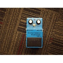 Boss CS1 COMPRESSION SUSTAINER Effect Pedal
