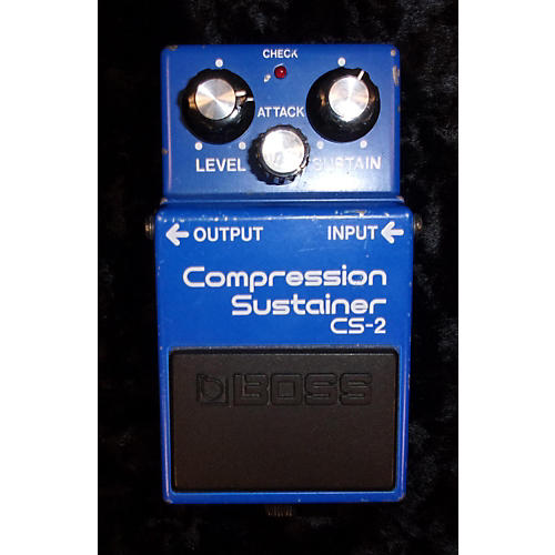 Boss CS2 Compressor Sustainer Effect Pedal