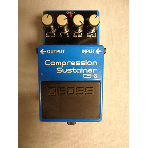 Boss CS2 Compressor Sustainer Effect Pedal-thumbnail