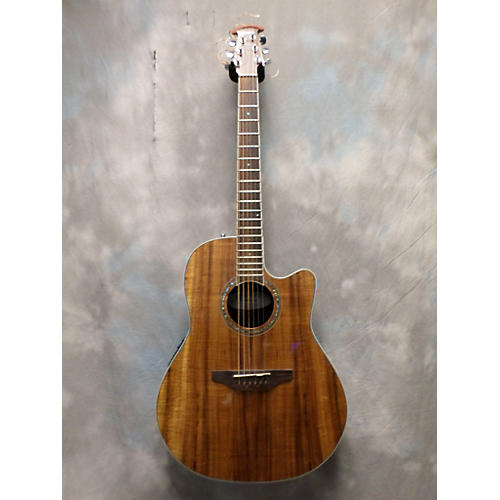 Ovation CS24PFKOA Celebrity Standard Plus Figured Koa Acoustic Electric Guitar