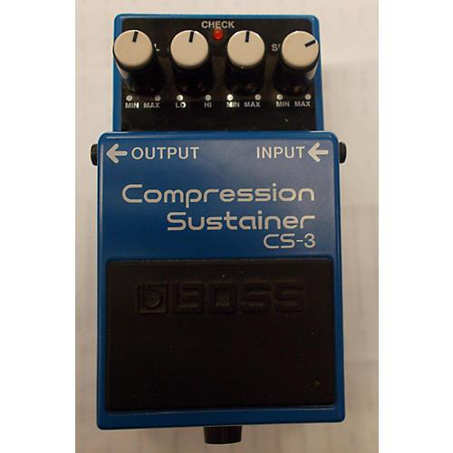 Boss CS3 Compressor Sustainer Blue Effect Pedal-thumbnail