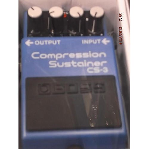 Boss CS3 Compressor Sustainer Blue Effect Pedal