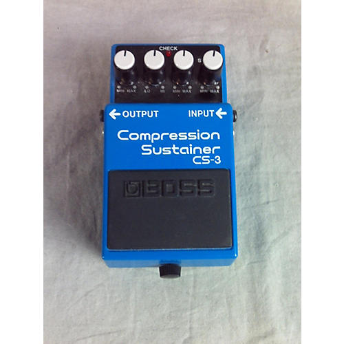 Boss CS3 Compressor Sustainer Effect Pedal-thumbnail