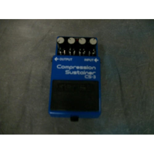 Boss CS3 Compressor Sustainer MIJ Effect Pedal-thumbnail