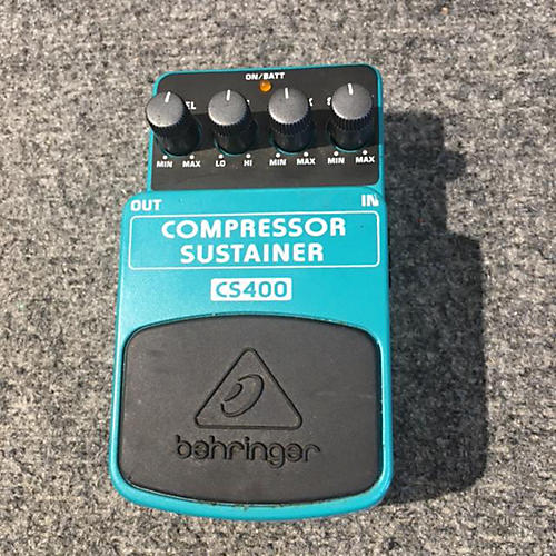 Behringer CS400 Compressor Sustainer Effect Pedal-thumbnail