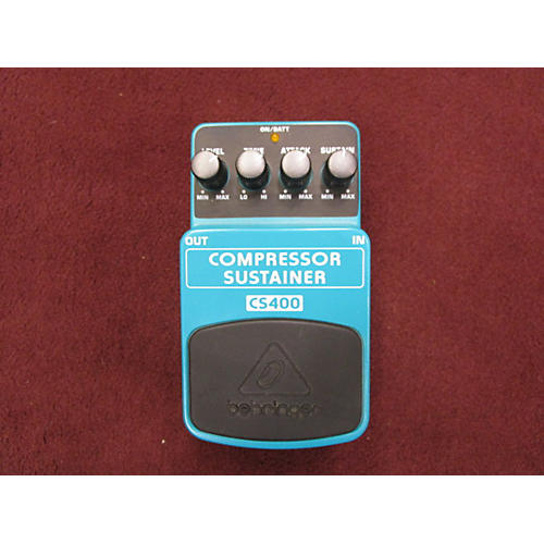 Behringer CS400 Compressor Sustainer Effect Pedal-thumbnail
