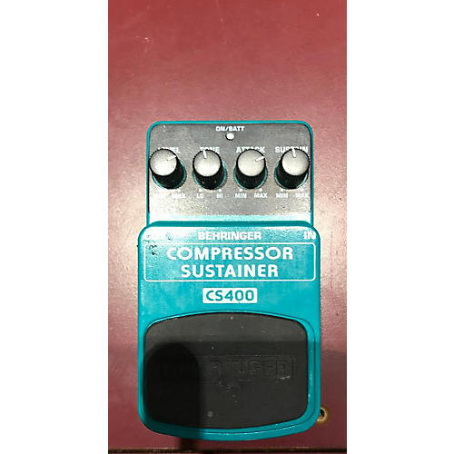 Behringer CS400 Compressor Sustainer Effect Pedal