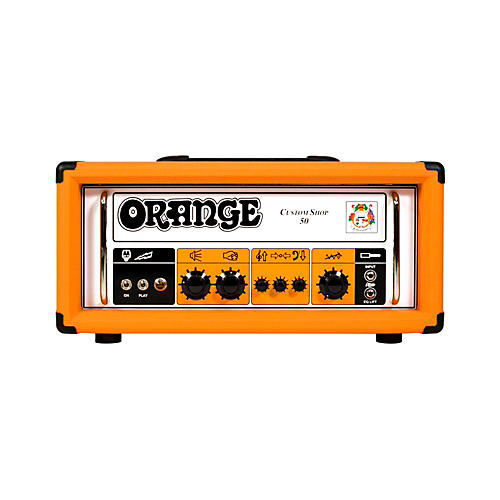 Orange Amplifiers CS50 Custom Shop 50W Tube Guitar Head-thumbnail
