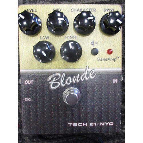 Tech 21 CSBL2 Sansamp Character Series Blonde V2 Effect Pedal