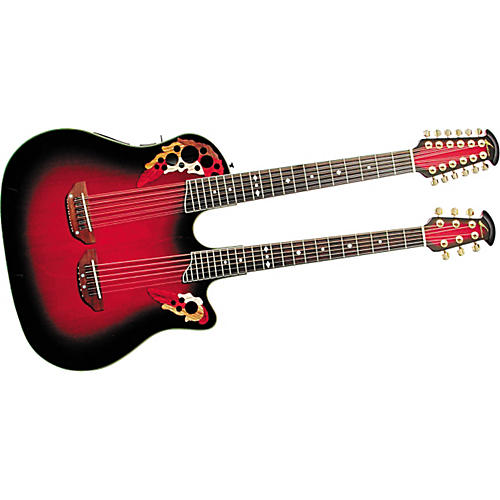 Ovation CSD225 Celebrity 6/12 Double Acoustic-Electric Guitar
