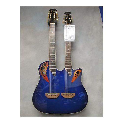 Ovation CSE225 Celebrity Double Neck Acoustic Electric Guitar
