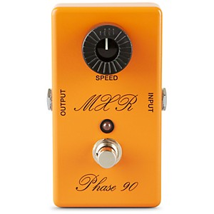 MXR Custom Shop CSP-101CL Script Logo Phase 90 with LED Guitar Effects Peda...