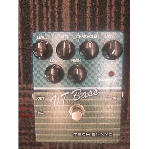 Tech 21 CSVTB.2 Sansamp Character Series VT Bass Bass Effect Pedal-thumbnail