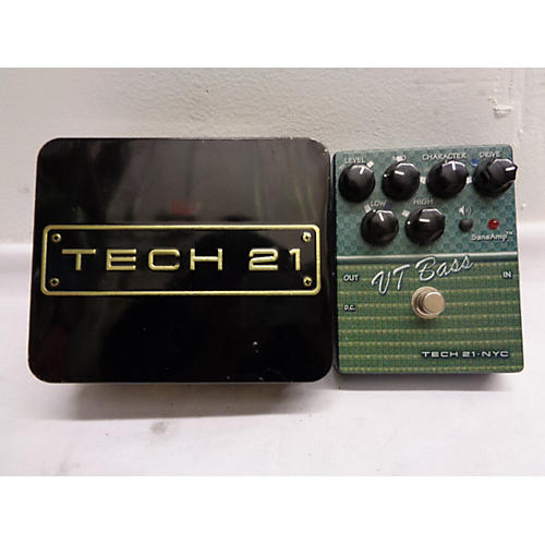 Tech 21 CSVTB.2 Sansamp Character Series VT Bass Bass Effect Pedal