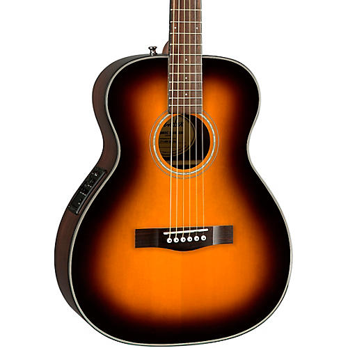 fender ct 140se with case travel acoustic electric guitar natural sunburst guitar center. Black Bedroom Furniture Sets. Home Design Ideas