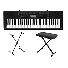 Casio CTK-2300 61-Key Portable Keyboard w/ Stand and bench