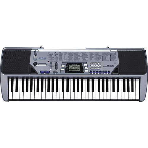 Casio CTK-496 61-Key Portable Keyboard-thumbnail