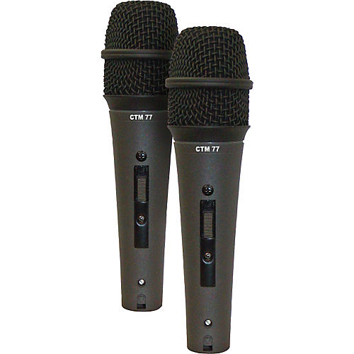 Astatic by CAD CTM-77LS Condenser Mic - Buy Two and Save!