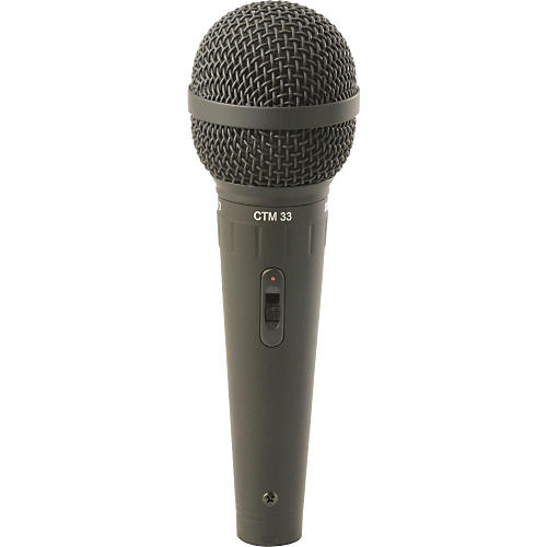 Astatic by CAD CTM33 Handheld Cardioid Dynamic Mic with Switch-thumbnail