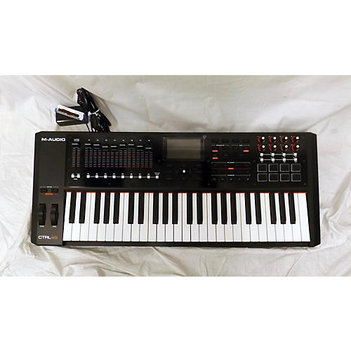 used m audio ctrl49 midi controller guitar center. Black Bedroom Furniture Sets. Home Design Ideas