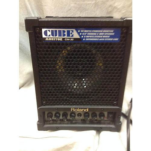 used roland cube monitor power amp guitar center. Black Bedroom Furniture Sets. Home Design Ideas