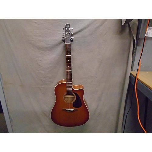 Seagull CW QI ENTOURAGE RUSTIC Acoustic Guitar-thumbnail