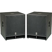 "Yamaha CW118V 18"" Club Concert Series Subwoofer Pair"