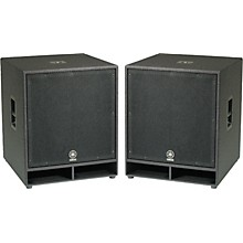 Yamaha CW118V 18 In. Club Concert Series Subwoofer Pair