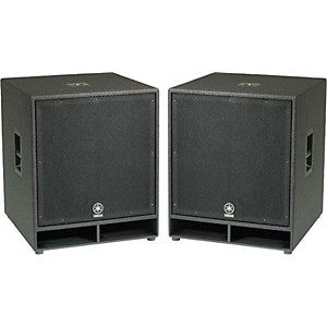 Yamaha CW118V 18 In. Club Concert Series Subwoofer Pair by Yamaha
