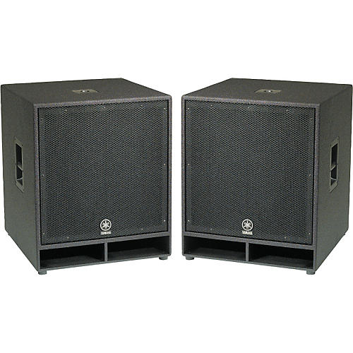 Yamaha CW118V 18 In. Club Concert Series Subwoofer Pair-thumbnail