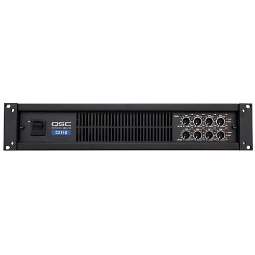 QSC CX168 8-CH Low-Z Power Amplifier