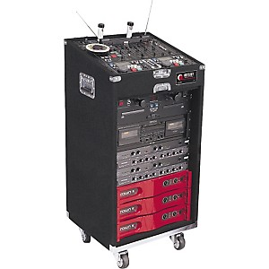 Odyssey CXL116W Deluxe Combo Case with Wheels by Odyssey