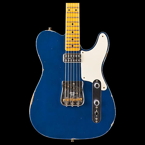Fender Custom Shop Caballo Tono Telecaster Electric Guitar Aged Lake Placid Blue