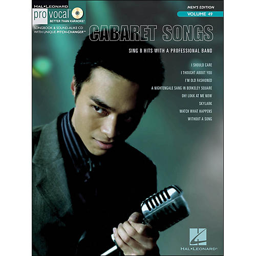 Hal Leonard Cabaret Songs - Pro Vocal Songbook for Male Singers Volume 49 Book/CD-thumbnail