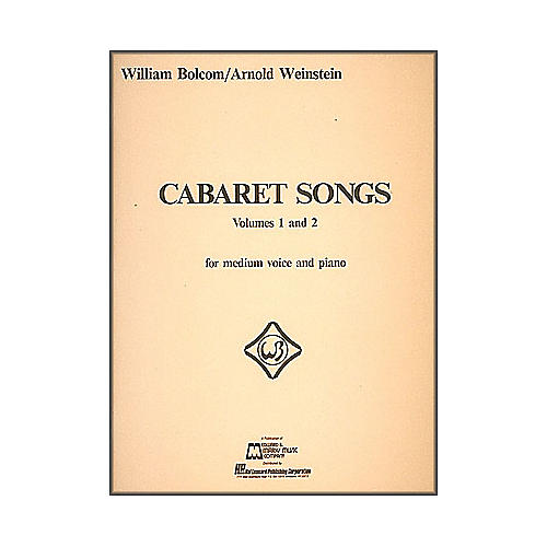 Hal Leonard Cabaret Songs Vol 1 & 2 for Medium Voice And Piano-thumbnail