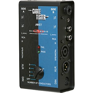 Galaxy Audio Cable Tester by Galaxy Audio