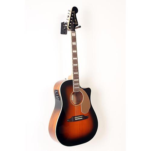 Fender California Series Kingman ASCE Cutaway Dreadnought Acoustic-Electric Guitar-thumbnail