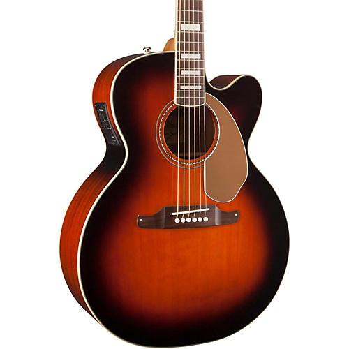 Fender California Series Kingman Jumbo SCE Cutaway Jumbo Acoustic-Elecric Guitar-thumbnail