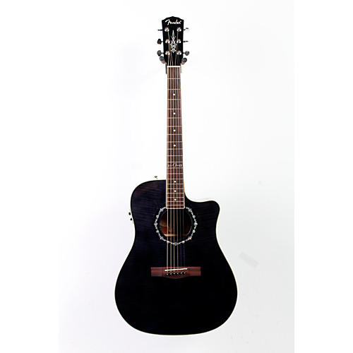 Fender California Series T-Bucket 300CE Cutaway Dreadnought Acoustic-Electric Guitar-thumbnail