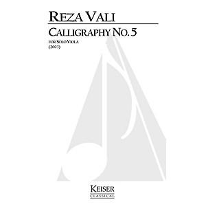 Lauren Keiser Music Publishing Calligraphy No. 5 Viola Solo LKM Music Ser... by Lauren Keiser Music Publishing
